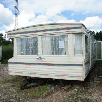 176. Willerby Chelsey 3,7 x 11,0 m. 2 guļamistabas