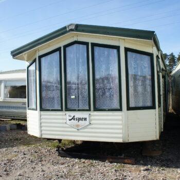 300. Willerby Aspen 3.7 x 11.5 m. 2 guļamistabas