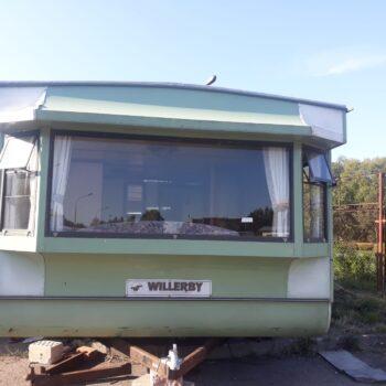 204. Willerby Leven 3.7 x 10.0 m. 2 guļamistabas