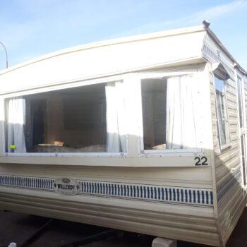 126. Willerby Granada 3.7 x 10.5 m. 2 guļamistabas