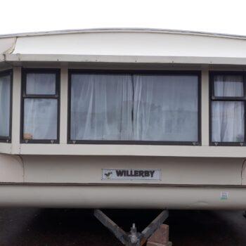 315. Willerby Leven 3.7 x 8.5 m. 2 guļamistabas