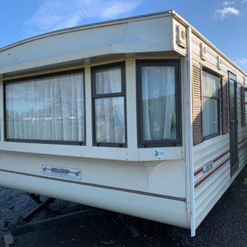336. Willerby Leven 3,7 x 11,0 m. 2 guļamistabas