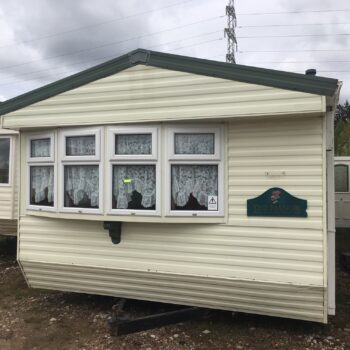 108. Willerby Manor 3.7 x 11.5 m. 2 спальни