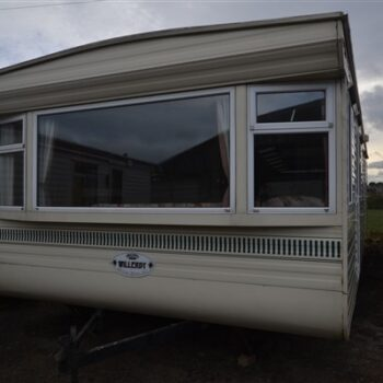 304. Willerby RT Superwarm 3.7 x 10.5 m. 2 miegamieji
