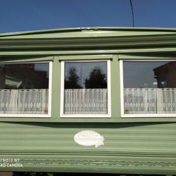 191. Cosalt Devon 3.7 x 11.5 m. 2 guļamistabas