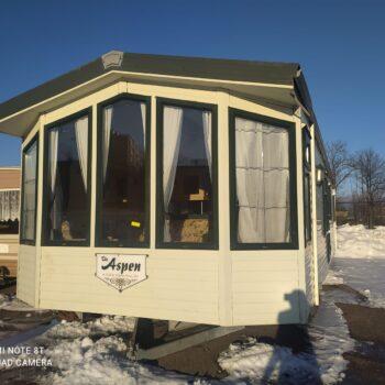 253. Willerby Aspen 3.7 x 11.5 m. 2 guļamistabas
